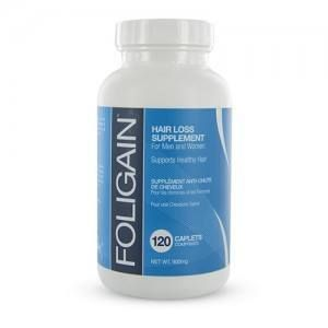 Foligain - Compléments alimentaire contre la chute de cheveux (120 pilules)
