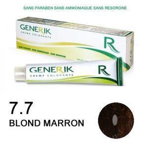 Generik Coloration  sans ammoniaque n°7,7 Blond marron