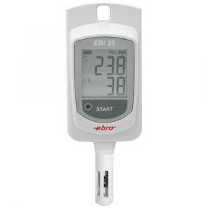 Ebro Enregistreur de données de température, d'humidité sans fil EBI 25 TH