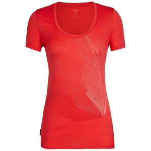 Icebreaker T-shirts Tech Lite Scoop Plume - Ember - Taille XS