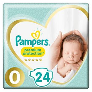 Pampers Couches Premium Protection New Baby Micro T.0 <3 kg 24 pcs