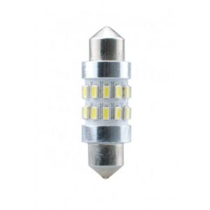 Habill-auto ampoule LED C5W CANBUS 36mm 12V 24xSMD3104 blanc