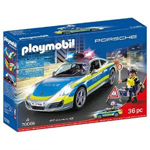 Playmobil 70066 Porsche 911 Carrera 4S Police Marron