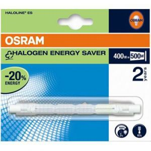 Image de Osram Tube halogène Haloline Eco R7S - 400 W - 114.2 mm - blanc froid
