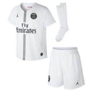 Nike Tenue de football 2018 Paris Saint-Germain Stadium Third pour Jeune enfant - Blanc - Couleur Blanc - Taille S