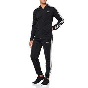 Adidas MTS B2BAS 3S C Survêtement Homme, Black/White, FR (Taille Fabricant : XL)