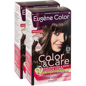 Eugène Color Color & care 5*8 moka délice - Coloration & soin longue durée