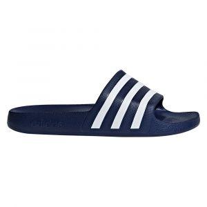 Adidas Sandales Adilette Aqua - UK 4 Bleu/Blanc Tongs
