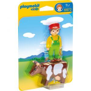 Playmobil 6972 - Fermier avec vache