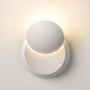 Lucide Applique murale LUNA LED Blanc, 1 lumière - Moderne - Intérieur - LUNA