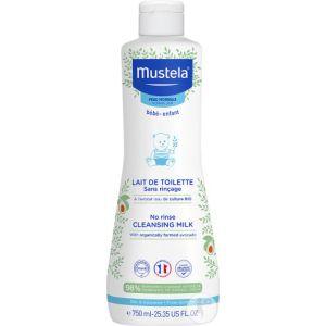 Mustela Lait de Toilette sans Rinçage - 750 ml