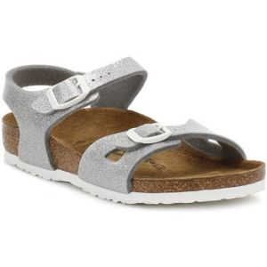 Birkenstock Rio, Sandales Fille, Argent (Magic Galaxy Silver), 32 EU