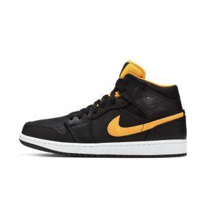 Nike Chaussure Air Jordan 1 Mid SE pour Homme - Noir - Taille 48.5 - Male