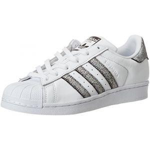 Adidas Superstar W, Blanc (Ftwbla/Supcol/Negbas 000), 36 2/3 EU