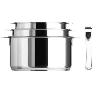 Cristel S3CQMPZ - 3 casseroles amovible Multiply