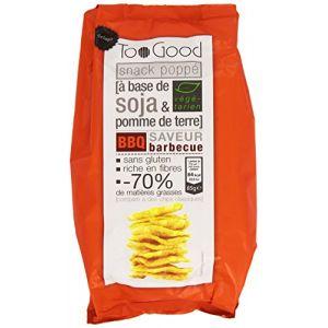 Too good Snack à Base de Soja et Pommes de Terres Saveur Barbecue 85 g