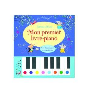 Bandai Interforum Mon 1er livre-piano