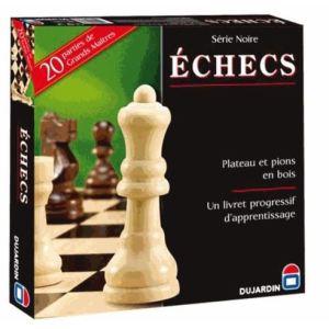 Dujardin Jeu d'échecs plateau Série Noire