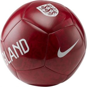 Nike Ballon de football England Pitch - Rouge - Taille 5 - Unisex
