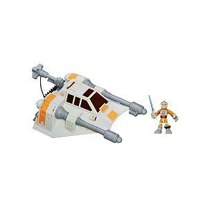 Hasbro Vehicule Deluxe Snowspeeder and Luke Skywalker B3813