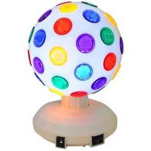 Ibiza Light Jeu de lumière - Boule Disco à LEDs RVB 8/20 cm 360° DL8LED-WH