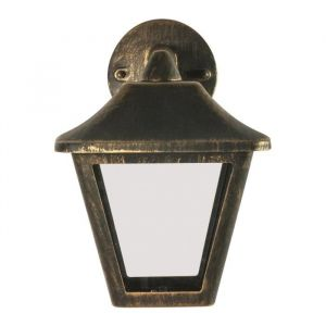 Osram Applique extérieur Endura Classic Tradition Down Alu - E27 - Noir et Gris
