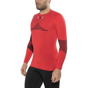 X-Bionic Running Effektor Power OW - T-shirt manches longues running Homme - rouge XXL T-shirts de compression