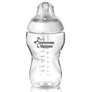 Tommee tippee 2342260171 - Biberon Closer to nature en polypropylène 340 ml (3 mois +)
