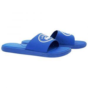 Lacoste Claquettes Croco Slide bleu - Taille 42