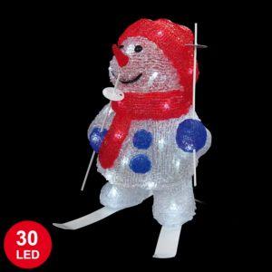Codico Bonhomme de neige lumineux (30 cm)