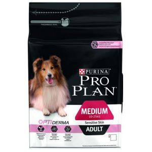 Purina Medium Adult Sensitive Skin OptiDerma - Sac 3 kg