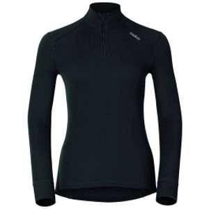 Odlo 152001 T-Shirt Femme Noir FR : M (Taille Fabricant : M)
