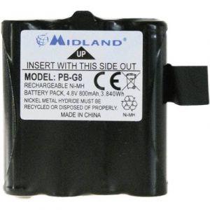 Midland Pack d'accus pour M99