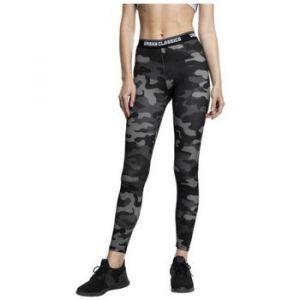 Urban classics Collants Legging sport fitness camo Noir - Taille EU S,EU M,EU XL,EU XS