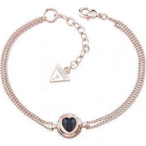 Guess UBB21533 - Bracelet chaîne en or rose pour femme