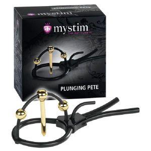 Mystim Strap d'électro Stimulation Gland / Urètre - Plunging Pete