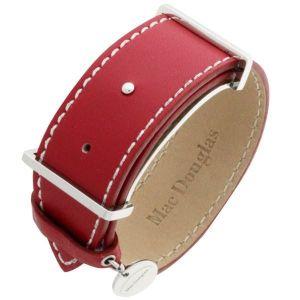 Mac Douglas MACMM1R - Bracelet en acier et cuir pour femme