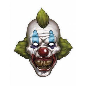 Masque papier clown halloween