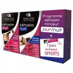 Biocyte Pack Kétoslim Minceur Jour/Nuit - 2 x 60 gélules