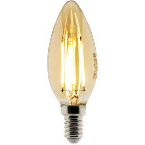 Conforama Ampoule LED Déco filament ambrée 4W E14 Flamme - ELEXITY