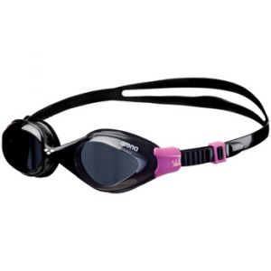 Arena Fluid Woman Lunettes de Piscine Mixte Adulte, Smoke-Transparent-Fuchsia, TU