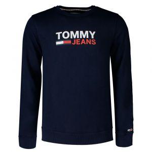 Tommy Hilfiger Sweat col rond Corp Logo Bleu Marine - Taille L;M;S;XL;XS;XXL