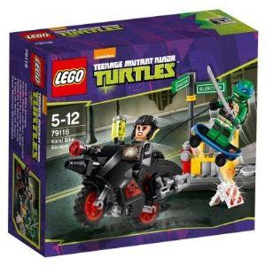 Lego 79118 - Tortues Ninja : L'évasion en moto de Karai