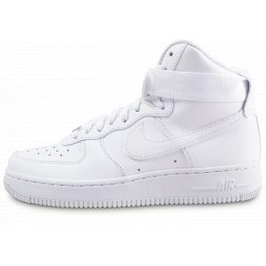 Nike Chaussure de basket-ball Chaussure Air Force 1 High 08 LE pour Femme - Blanc - Couleur Blanc - Taille 36.5