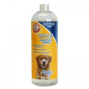 Arm & Hammer The Company of Animals Advanced Care dentaire Eau Additif le tartre Control, 94,6 cl