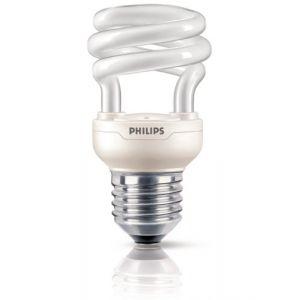 Philips 929689331302 - Ampoule Fluo-compacte Spirale Culot E27 8 Watts consommés (Equivalence incandescence 45W)