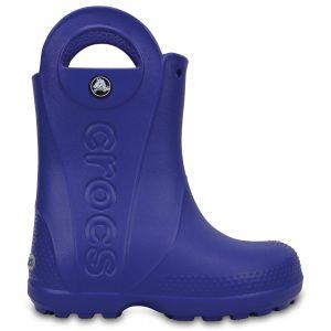 Crocs Handle It,Bottes de Pluie,Mixte Enfant,Bleu (Cerulean Blue), 23/24 EU