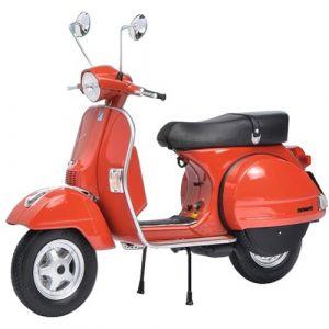 Schuco 450667000 - Modèle de Moto - Vespa PX 125 - Echelle 1/10 - Rouge