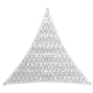 Windhager Voile ombrage Sunsail Adria triangulaire 3,6m - Blanc
