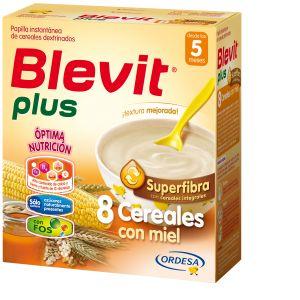 Blevit Plus 8 céréales et miel 600 g - dès 5 mois